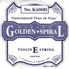 Golden Spiral E string